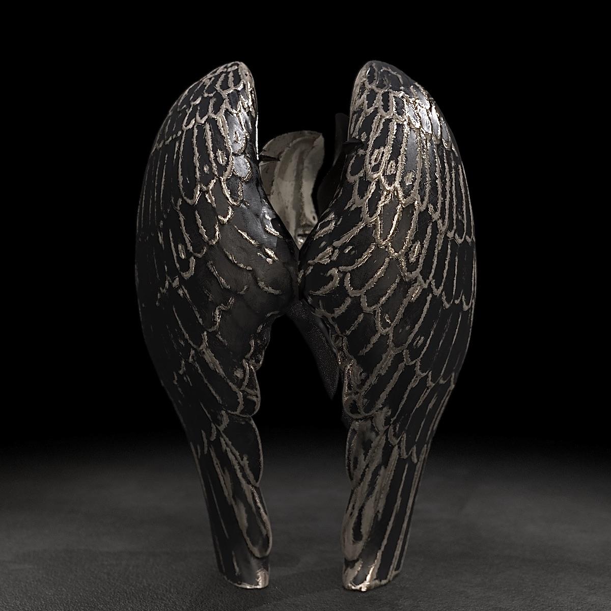 KUMAN   Œuvres d'art - Angel bronze