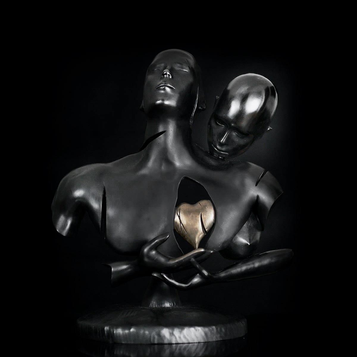 KUMAN | Œuvres d'art - Generosity bronze