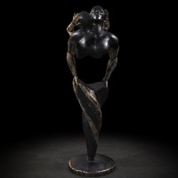 KUMAN   Œuvres d'art - Harmony bronze