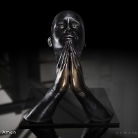 KUMAN | Œuvres d'art - Amen bronze